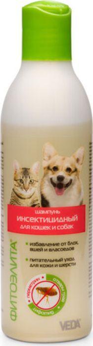 Шампунь инсектицидный для кошек и собак ФитоЭлита