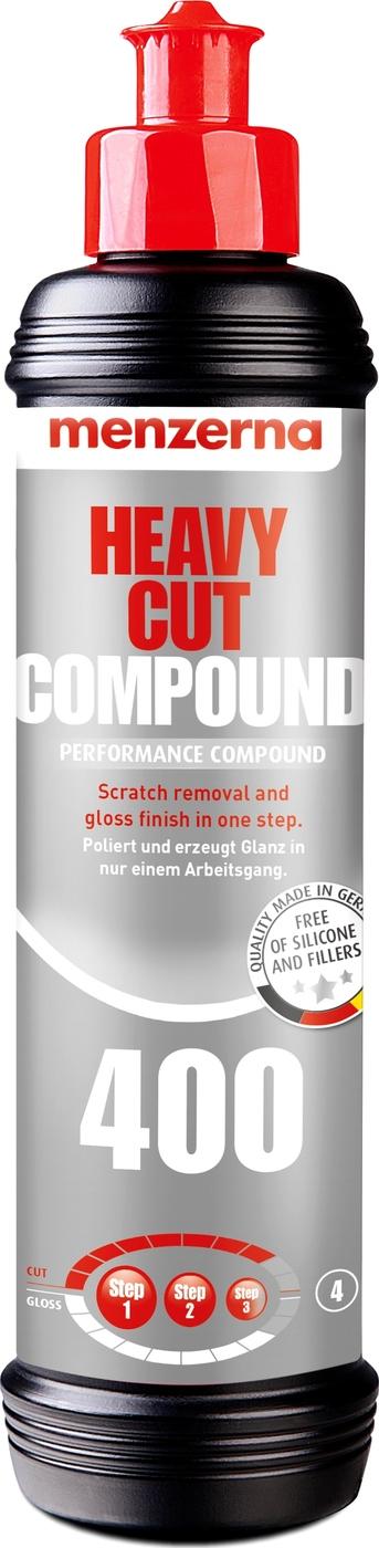 Menzerna Универсальная высокоабразивная полировальная паста Heavy Cut Compaund 400, 250 мл.