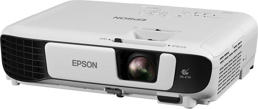 Мультимедийный проектор Epson EB-E05, серый
