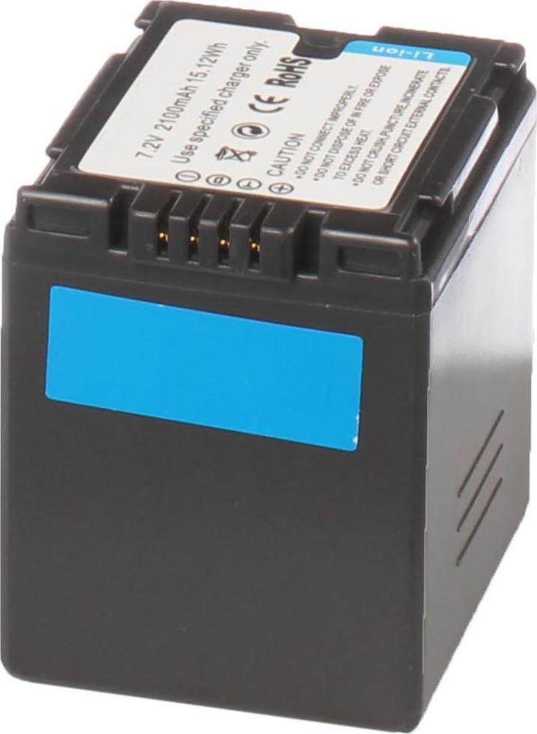 Аккумуляторная батарея iBatt iB-T1-F314 2160mAh для камер Hitachi DZ-MV350E, DZ-MV730E, DZ-BD70, DZ-GX3100E, DZ-MV380, DZ-BD7H, DZ-MV750E,  для Panasonic NV-GS27, NV-GS300, NV-GS400, NV-GS500, NV-GS35, SDR-H280, NV-GS6, SDR-H20, NV-GS230, NV-GS180,