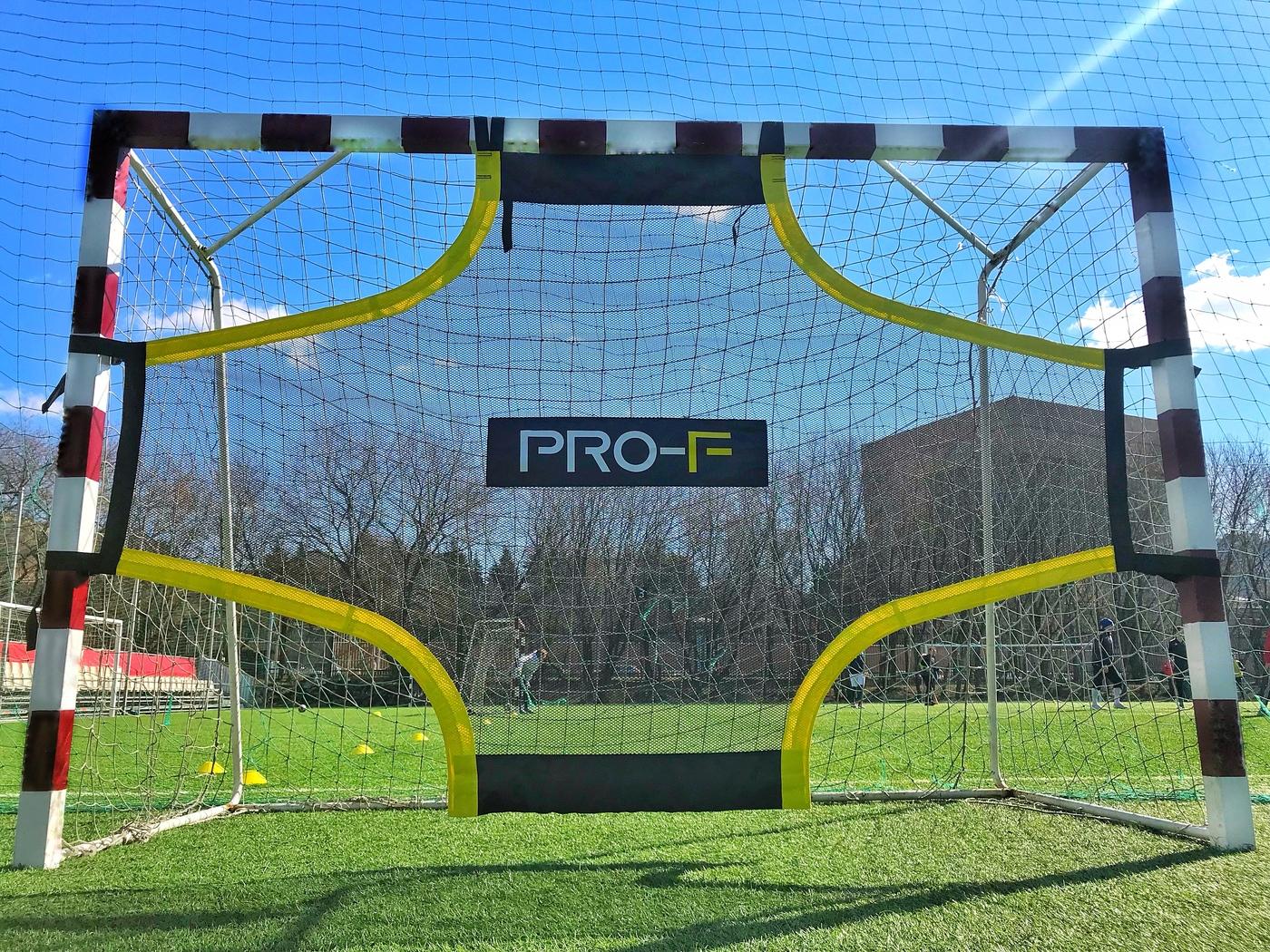 Футбольный тренажер сетка-мишень на ворота TARGET SHOT 3x2 PRO-F