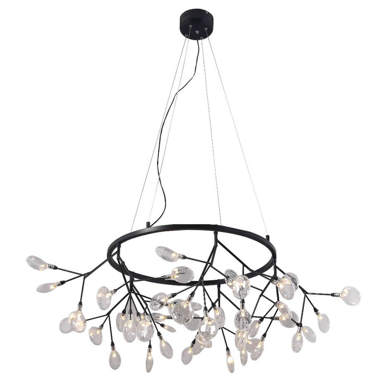 Подвесной светильник Crystal Lux Evita SP45 D BLack/Transparent, G4, 1 Вт
