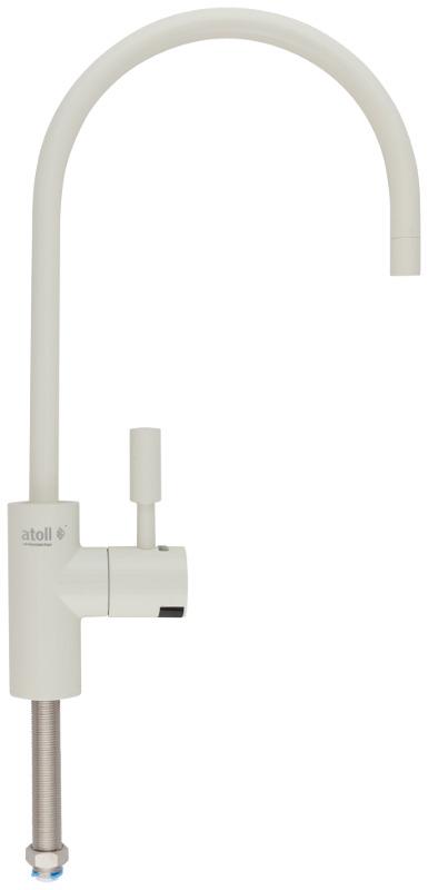 Кран для фильтра Atoll A-8883-IY (LED), слоновая кость