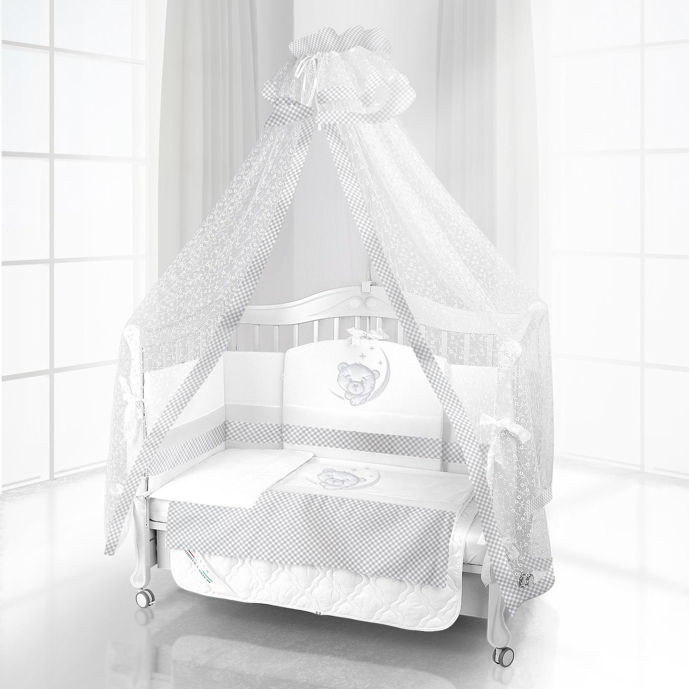 Комплект постельного белья Beatrice Bambini Unico Sogno (120х60) - BIANCO/GRIGIO