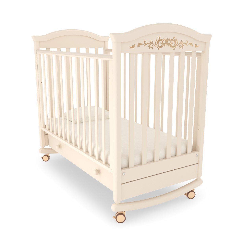 Кровать детская Гандылян Даниэль  Люкс (слоновая кость)
