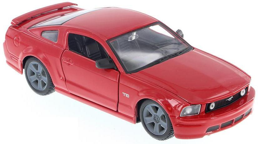 "Maisto ""Красная машинка - Ford Mustang GT 2006г 1:24"""