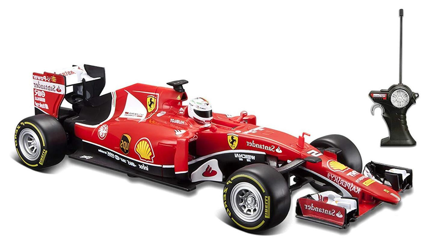"""Maisto """"Ferrari SF15-T 1:24 - Красная радиоуправляемая машинка"""""""