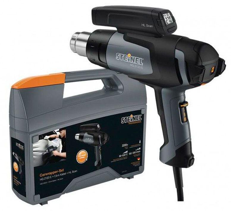 Строительный фен HG 2120 E  + температурный сканер HL Scan + кейс Steinel