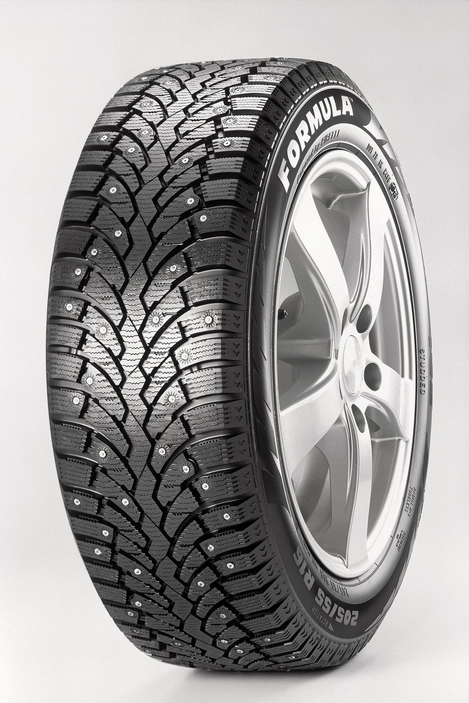 """Шины автомобильные Pirelli 235/55 R18"""" T (до 190 км/ч) 104 (900 кг) Зима Шипованные"""