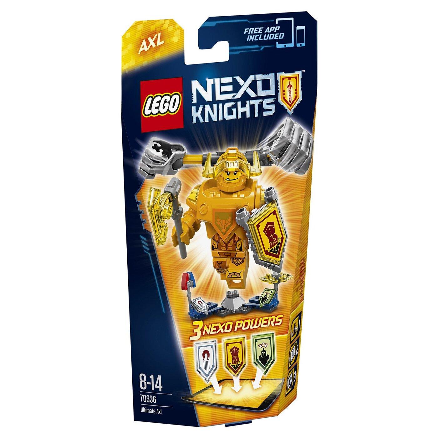 LEGO Nexo Knights Конструктор Аксель   Абсолютная сила 70336