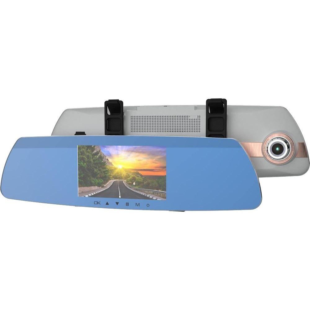 Видеорегистратор Ritmix AVR-383 MIRROR, голубой
