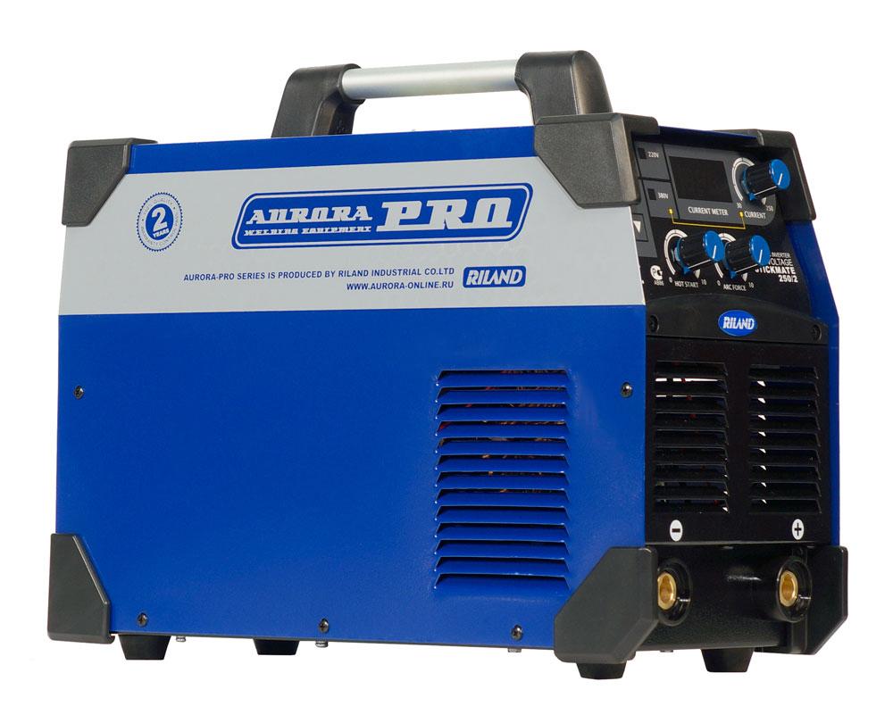 Инверторный сварочный аппарат AuroraPRO STICKMATE 250/2 Dual Energy