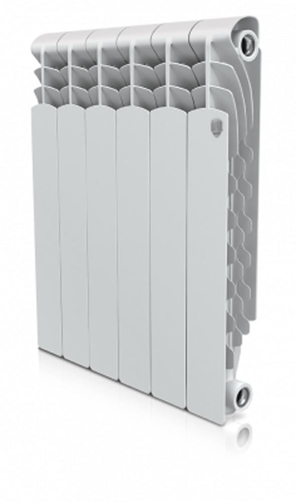 """Радиатор алюминиевый """"Royal Thermo"""" Revolution 500*80  4 секции. НС-1054825"""