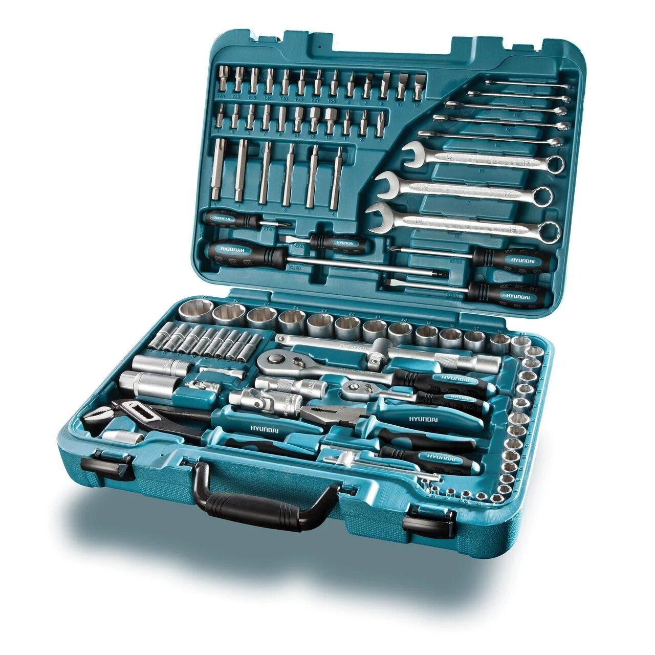Универсальный набор инструмента 98 предметов Hyundai K 98