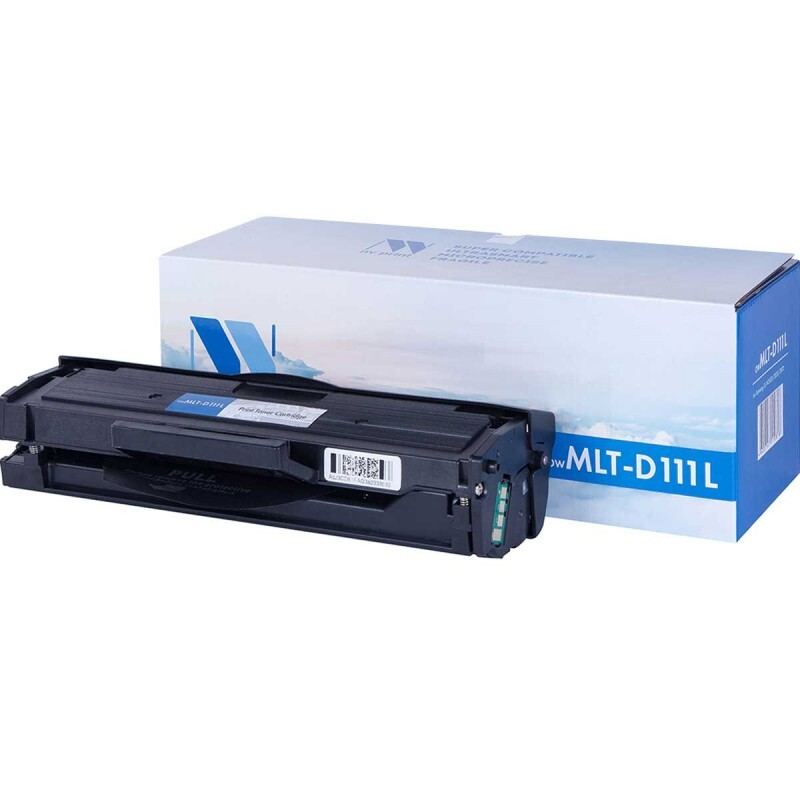 Картридж NV Print MLT-D111L, черный, для лазерного принтера, совместимый