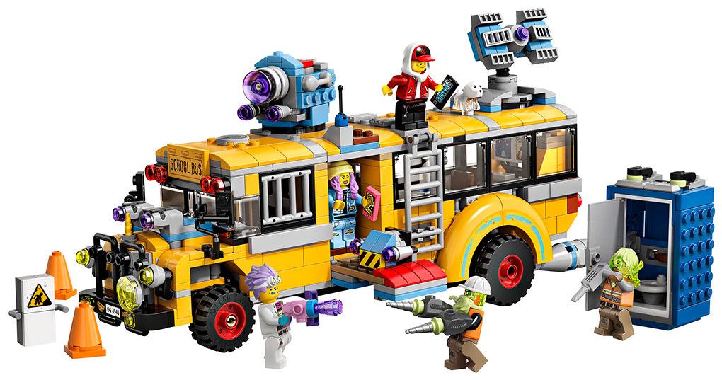 Конструктор Lego Автобус охотников за паранормальными явлениями 3000 70423