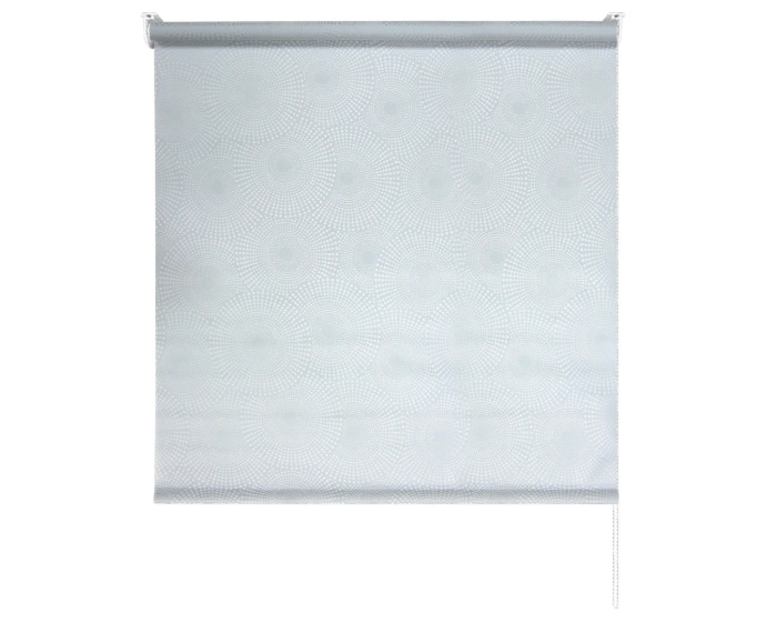Штора рулонная 140x175 см, цвет серый-20519