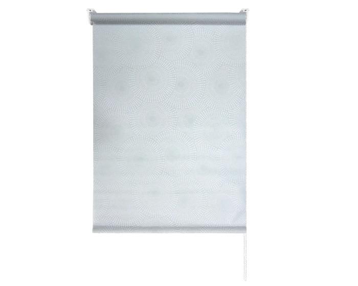 Штора рулонная 80x160 см, цвет серый-20546