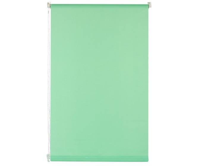 Штора рулонная 60х160 см цвет зелёный-20436