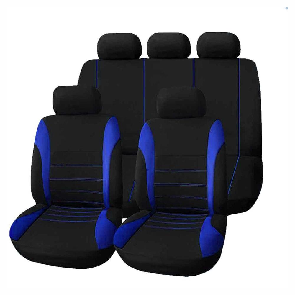9шт Универсальное автомобильное сиденье Обложка Творчество Авто Оформление