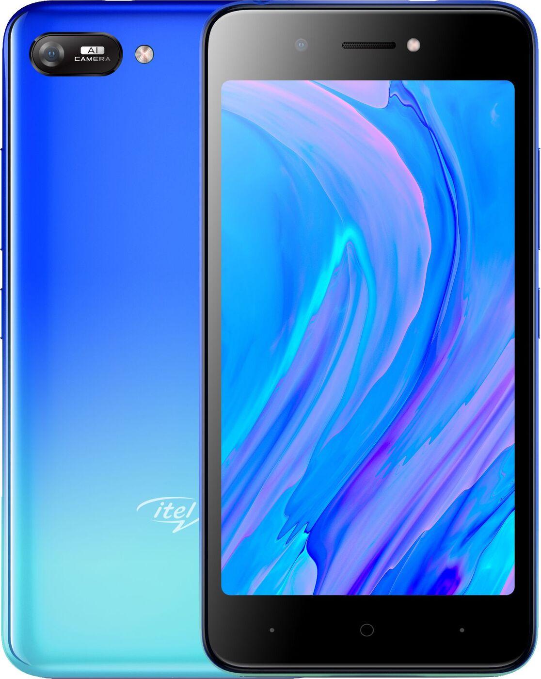 смартфон itel a25 1/16gb, голубой