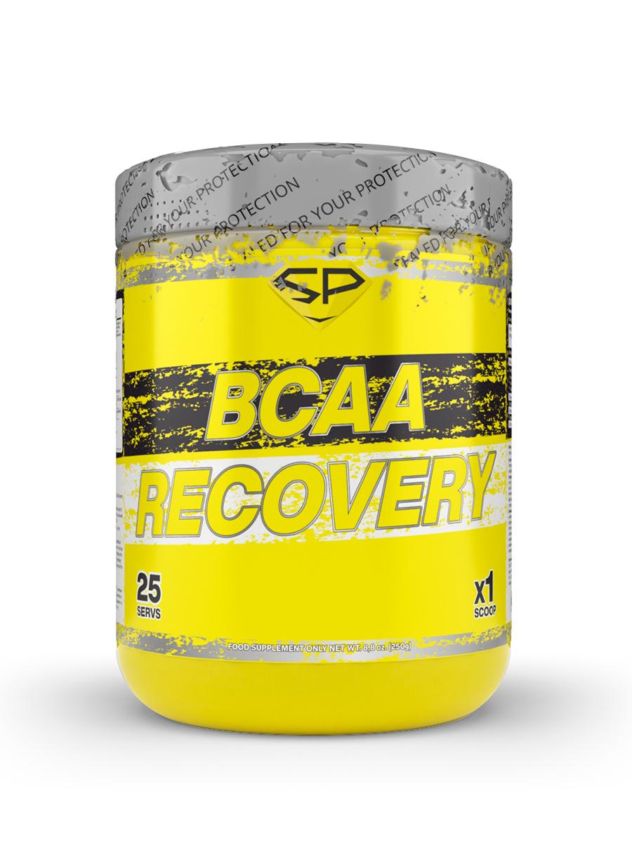 STEELPOWER / Аминокислоты BCAA глютамин глицин для восстановления после тренировки BCAA RECOVERY, 250г, Апельсин