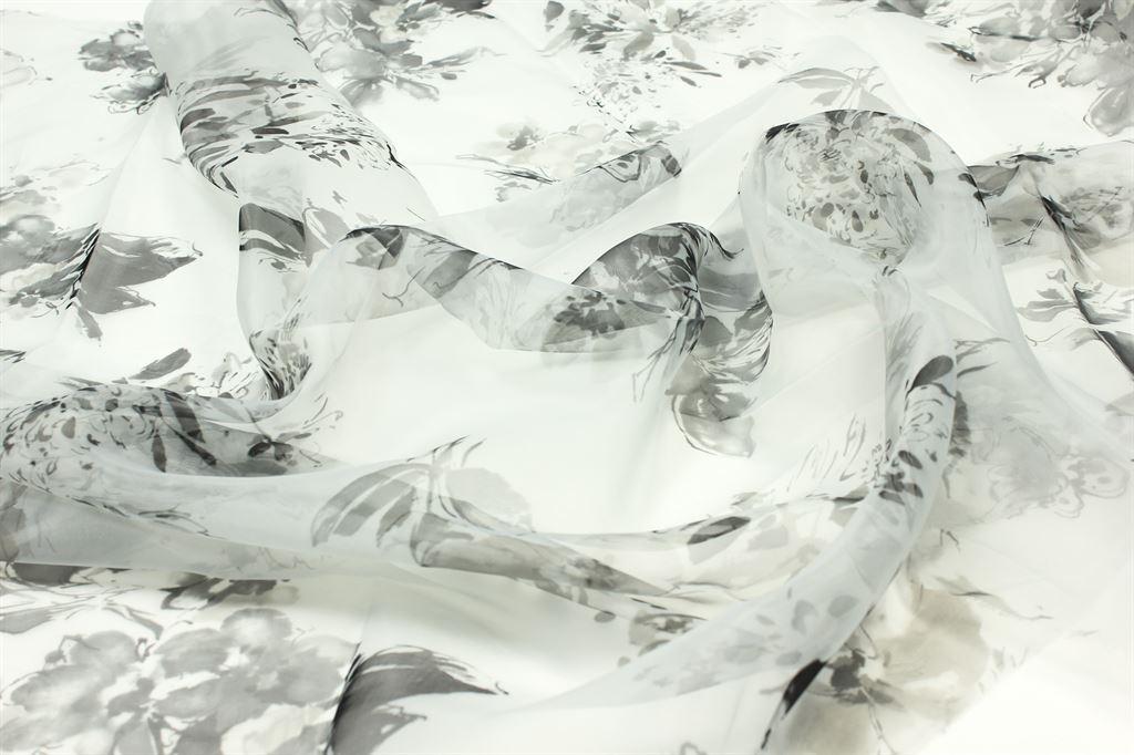 Органза ОТРЕЗЫ 0.8м*1.45м / ткань с цветами / ткань цветы / органза тюль / органза ткань / тюль органза / ткань органза / ткань для шитья / ткань / ткани для шитья / ткани / ткань для рукоделия / ткань плательная / плательная ткань / ткань для платья