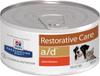 Влажный диетический корм для собак и кошек Hill's Prescription Diet a/d Restorative Care при реабилитации после болезней, с курицей 156 г - изображение