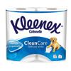 Kleenex Туалетная бумага белая Delicate White , 2 слоя, 4 рулона - изображение