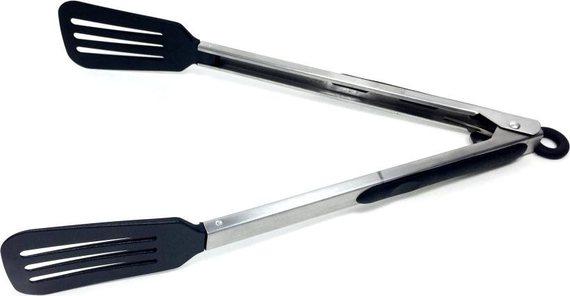 Щипцы- лопатка кулинарная Simple Блэк длинные #1