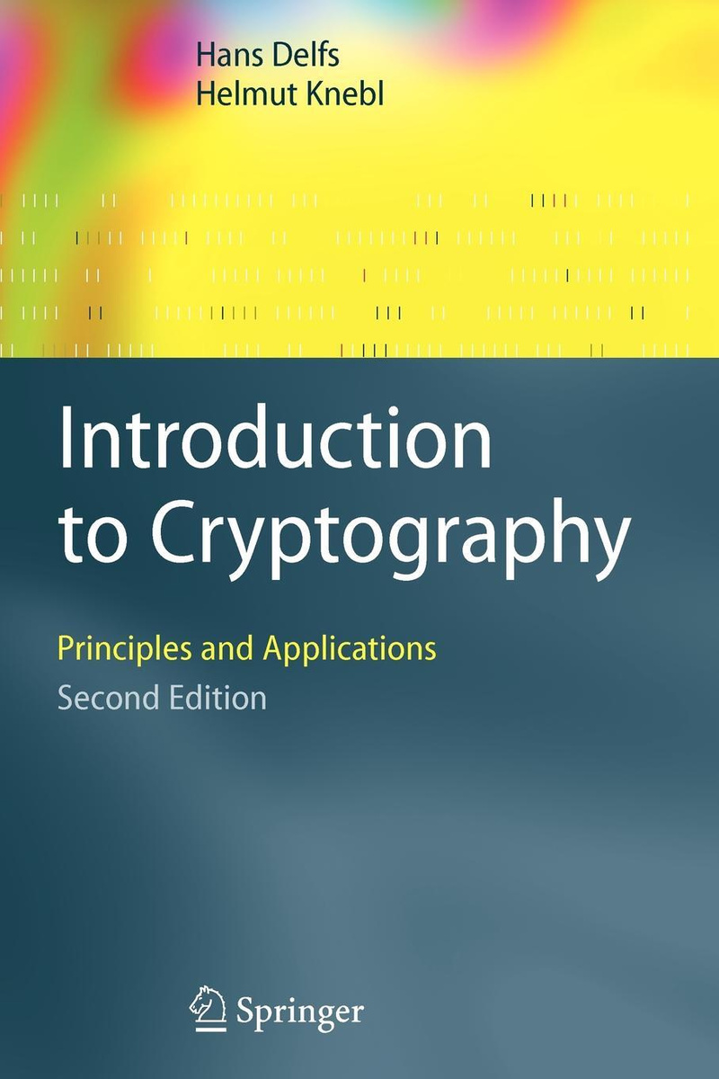 Introduction to Cryptography. Principles and Applications #1