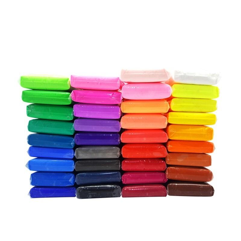 Легкий пластилин от Бестселлер, воздушный, мягкий, яркий, скульптурный. Набор из 36 цветов (инструменты #1