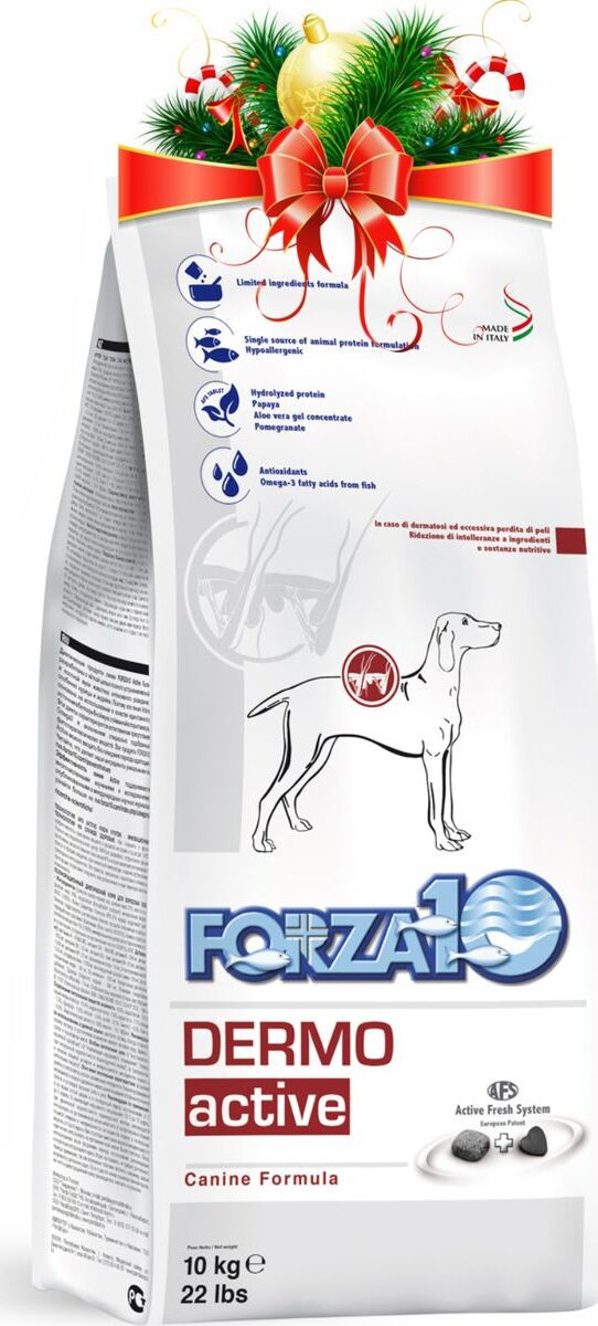 """Корм сухой Forza10 """"Active Line"""", для взрослых собак всех пород с патологиями кожного покрова, 10 кг #1"""