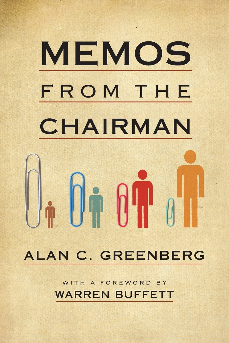 Memos from the Chairman #1