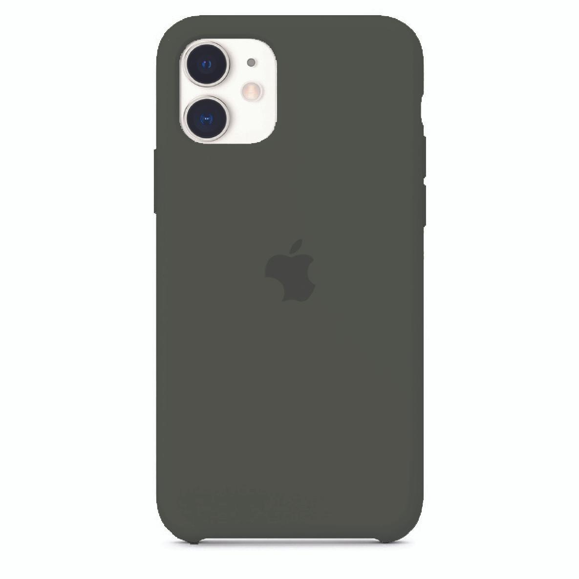 Чехол силиконовый Silicon Case iPhone 11, графит #1