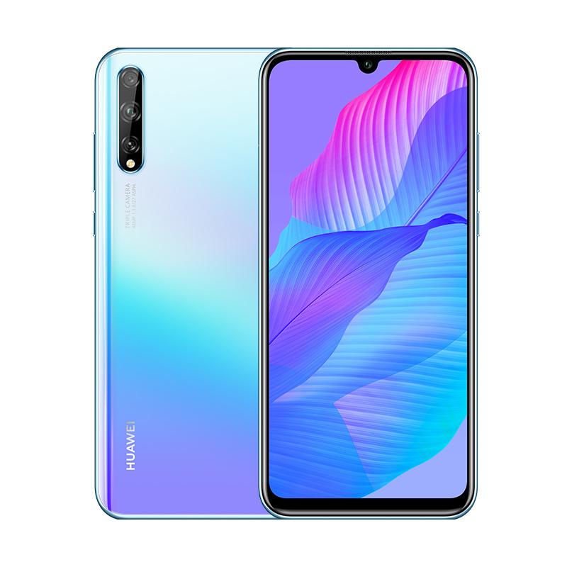 Смартфон Huawei Y8p 4/128GB, светло-голубой #1