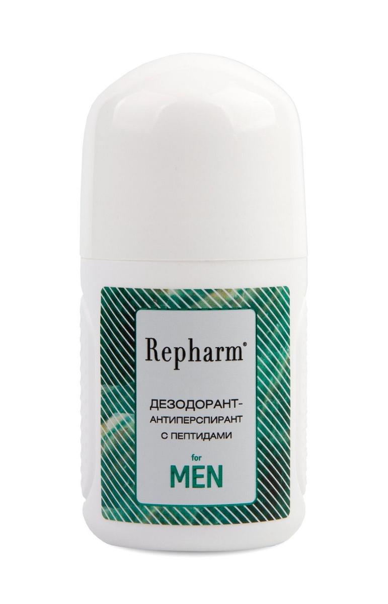Repharm Дезодорант-антиперспирант с пептидами for men 50 мл #1