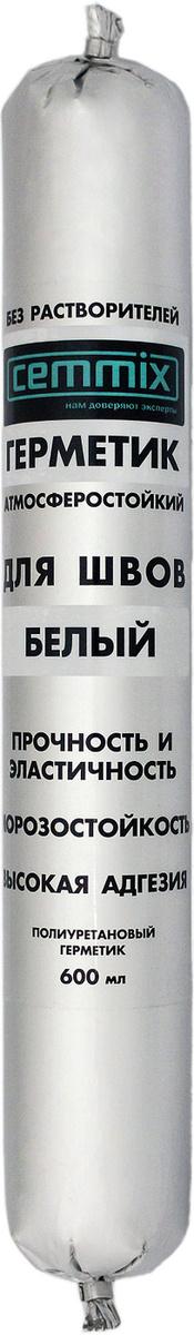 Клей-герметик Cemmix Шовный Полиуретановый 600 мл белый #1
