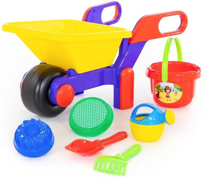 Полесье Набор игрушек для песочницы №544, цвет в ассортименте  #1
