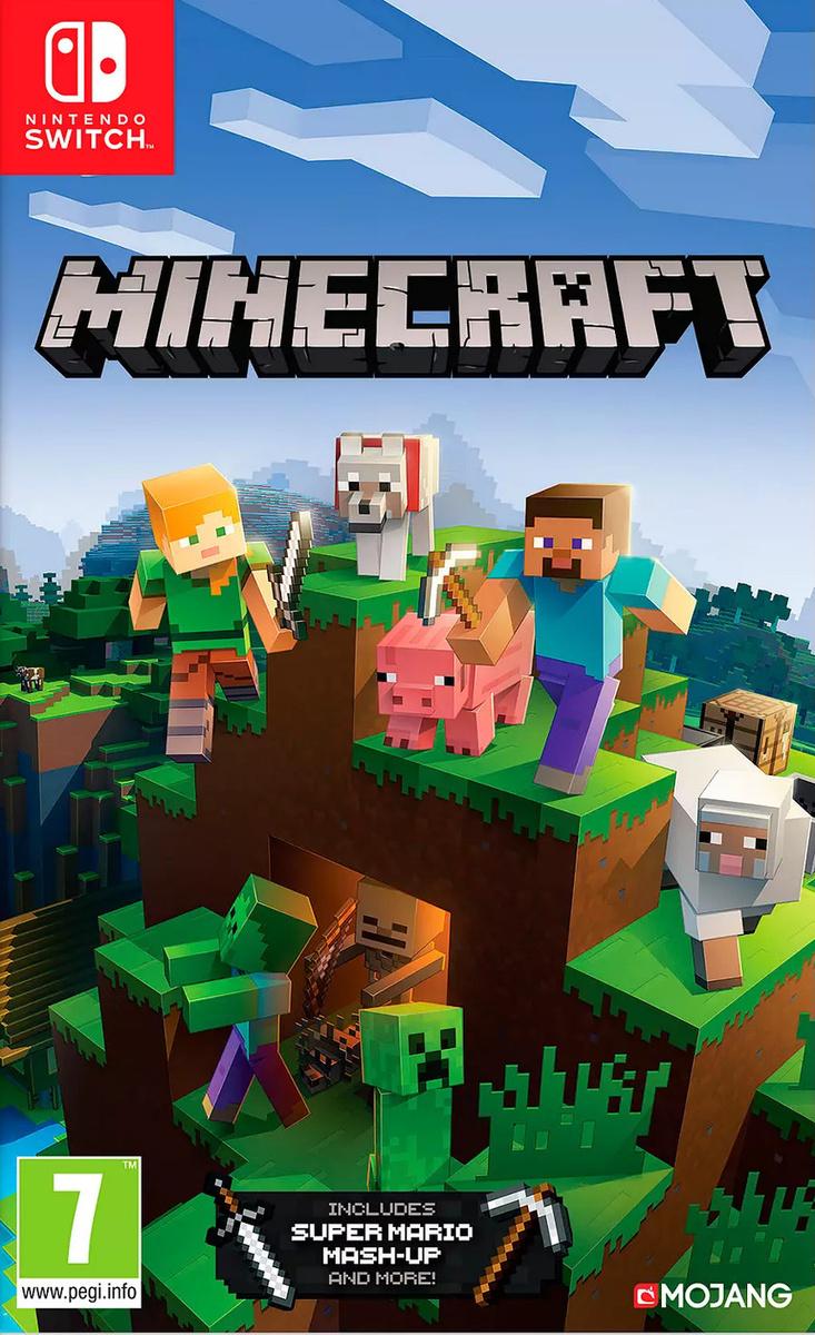 Игра Minecraft (Nintendo Switch, Русская версия) #1