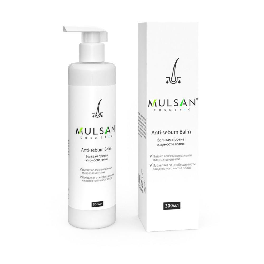 MULSAN Бальзам против жирности волос, Anti-Sebum Balm, 300 мл #1