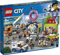 Конструктор LEGO City Town 60233 Открытие магазина по продаже пончиков. Наши лучшие предложения