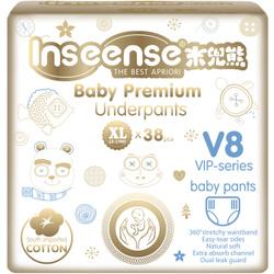INSEENSE  Подгузники-трусики PREMIUM V8 ХL (12-17кг) 38шт. Подгузники трусики