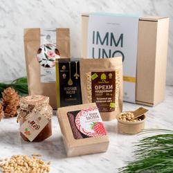 Подарочный набор ImmunoSet / подарок мужчине, маме, папе, любимой, подруге, бабушке, коллеге, учителю /Сибирский кедр. Лучшие товары