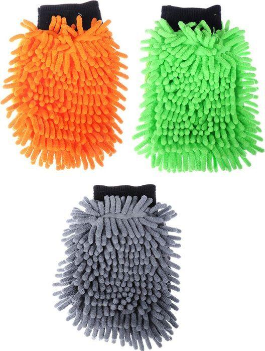 Варежка для мытья автомобиля New Galaxy, 728013, 20 х 14 см
