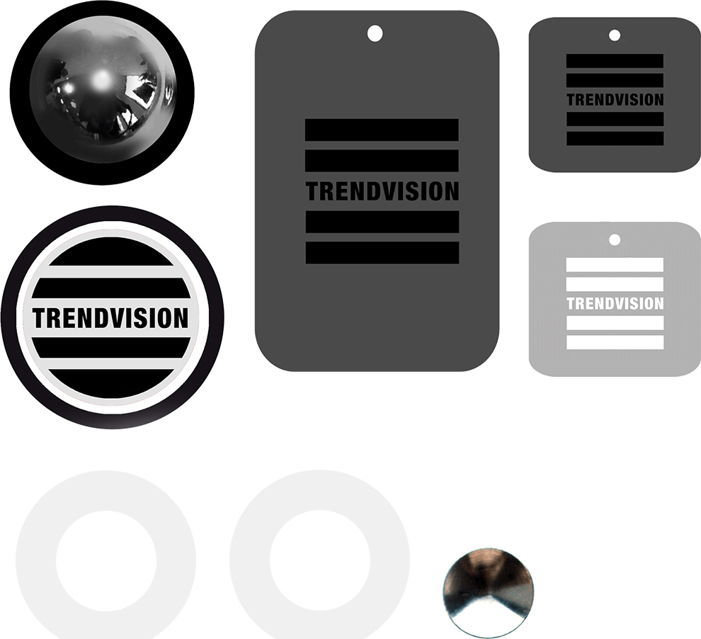 цена на Автомобильный держатель TrendVision MagBall, белый