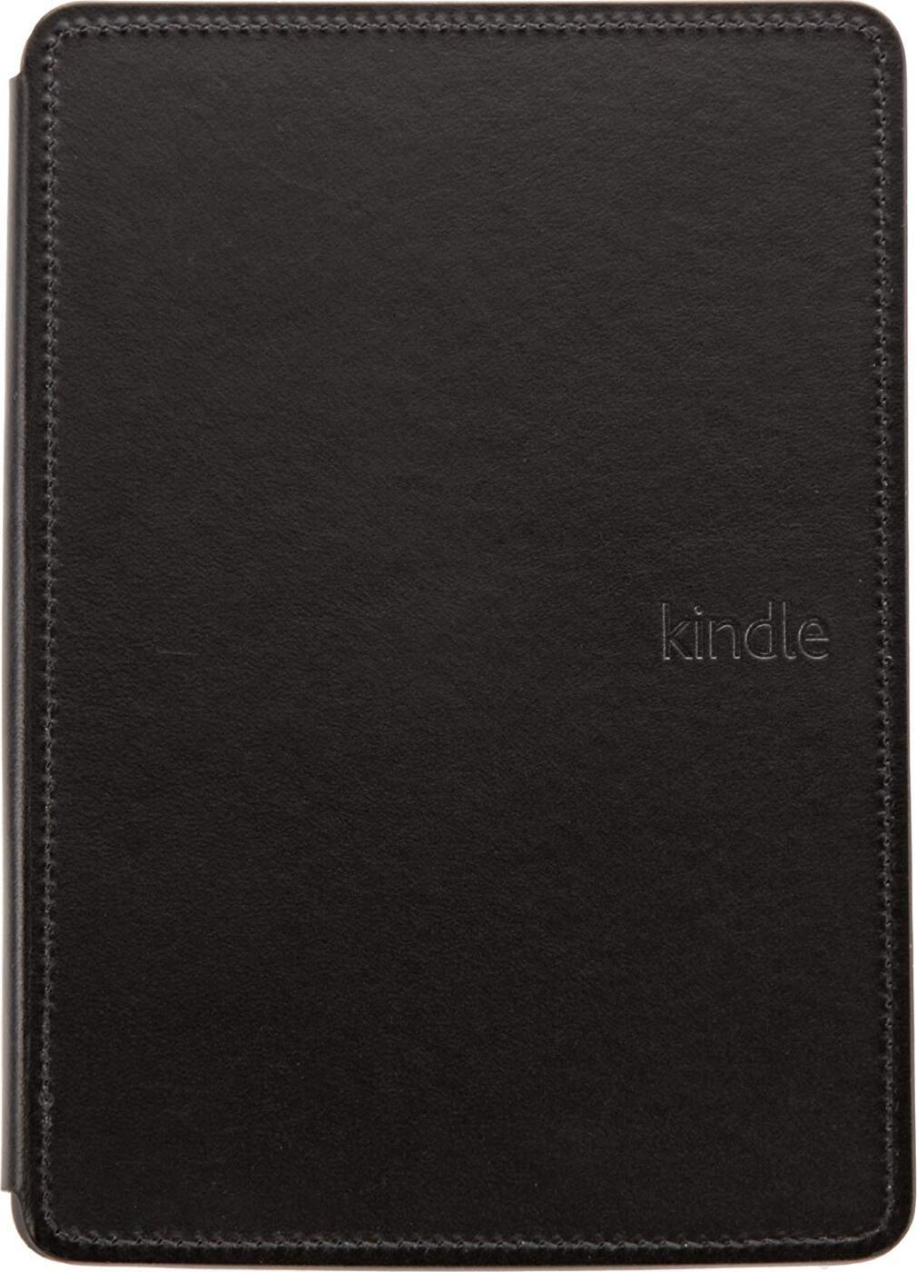 Чехол Amazon Leather Cover с подсветкой для Kindle 5, Черный