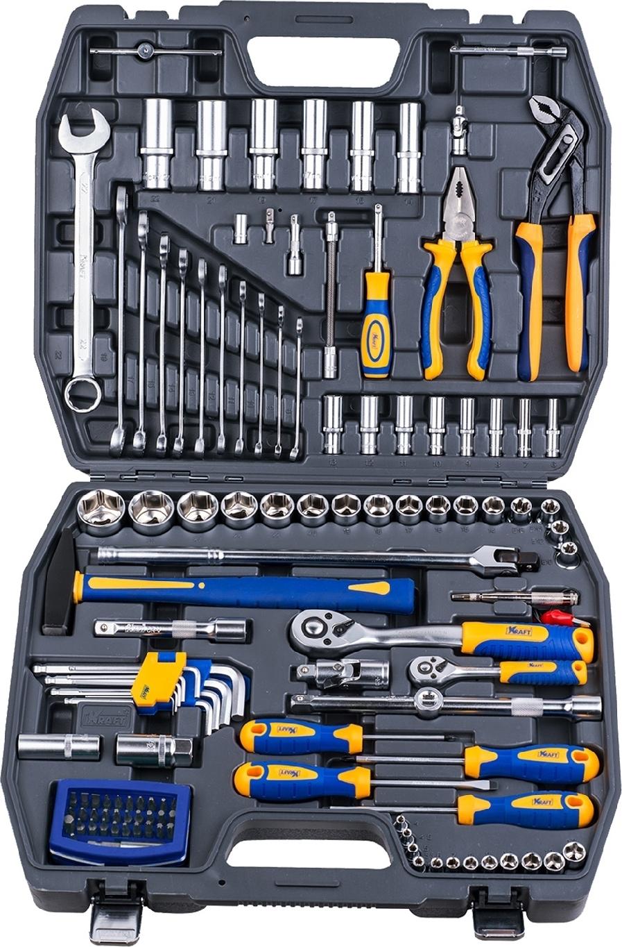 Набор ручного инструмента KRAFT КТ 700679 (120 предметов) mizumi 26 x 1 75 2 0 с велониппелем