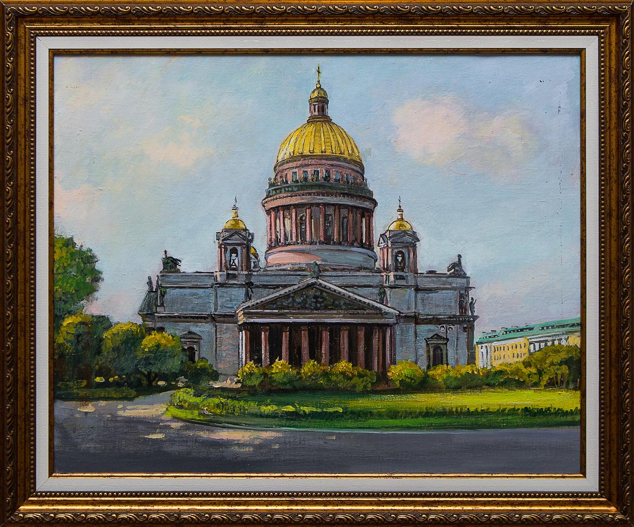 Картина маслом Исаакий Воробьёв картина маслом гуляки воробьёв