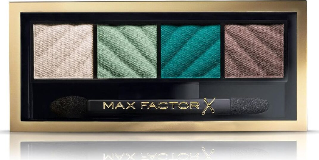 Max Factor Тени для век и Пудра для бровей Smokey Eye Matte Drama Kit 2в1, тон №40 Hypnotic Jade, 3 г